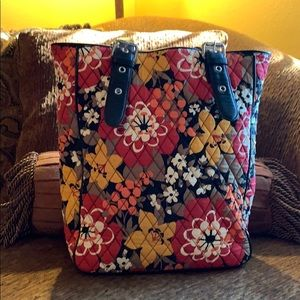 Vera Bradley North South Tote in Bittersweet